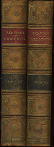 HOOFT, P.C. - Gedichten. Volledige uitgave door F.A. Stoett. Tweede geheel herziene, opnieuw bewerkte en vermeerderde druk van de uitgave van P. Leendertz Wz. Twee delen.