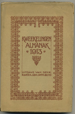 LANSEN, PIET. - Almanak van den Kweekelingen Geh.-Onthoudersbond. 1913.