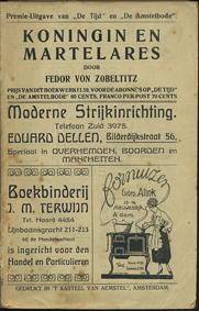 ZOBELTITZ, FEDOR VON. - Koningin en Martelares.