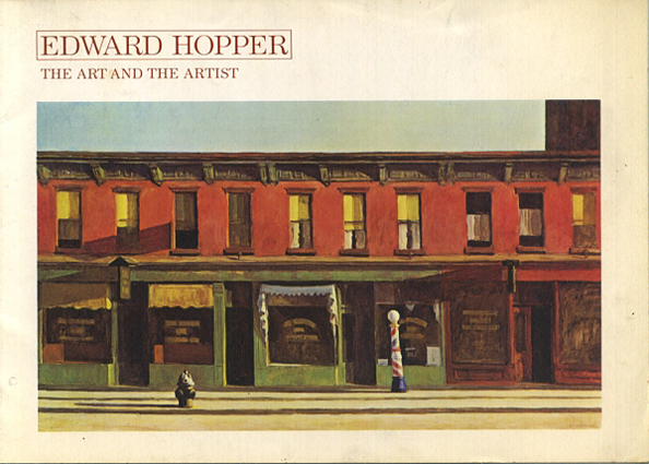 [CATALOGUS]. - Edward Hopper. The Art and The Artist.